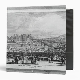 View of Chateau de Meudon 3 Ring Binder