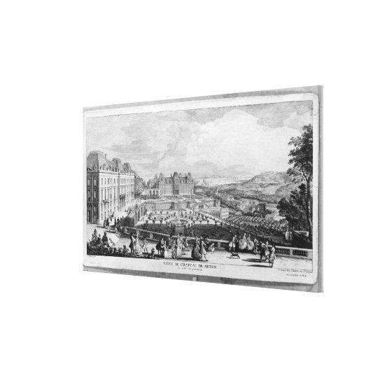 View of Chateau de Meudon Canvas Print
