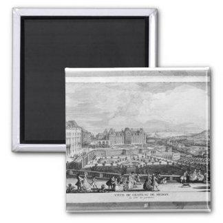 View of Chateau de Meudon Magnet