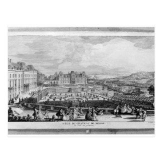 View of Chateau de Meudon Postcard