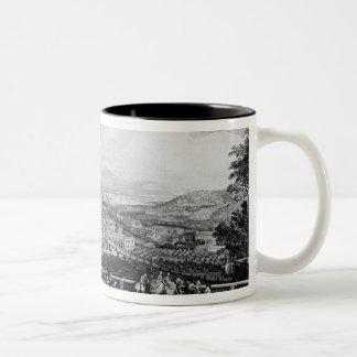 View of Chateau de Meudon Two-Tone Coffee Mug