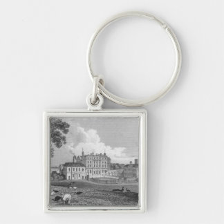 View of Chevening Place, engraved by S. Lacy Keychain