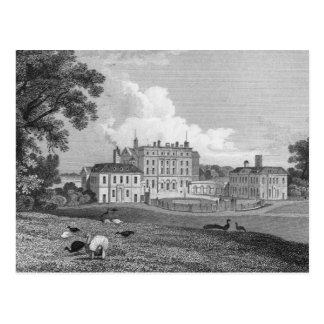 View of Chevening Place, engraved by S. Lacy Postcard