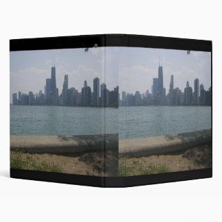 View of Chicago from Lake Michigan Vinyl Binder