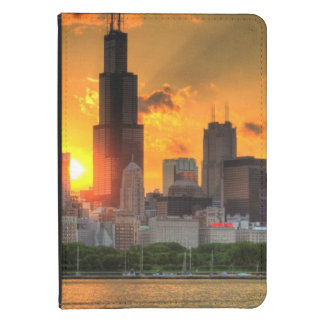 View of Chicago's skyline from  Adler Kindle 4 Cover