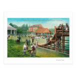 View of Children's Playground Postcard