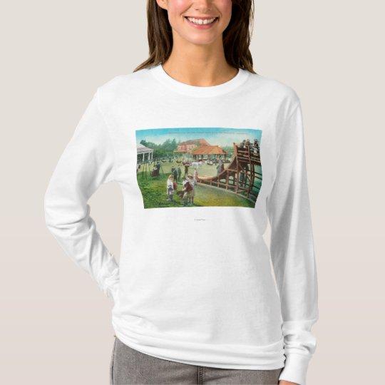 View of Children's Playground T-Shirt