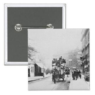 View of Church Street Kensington c 1906 Button