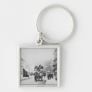 View of Church Street, Kensington c.1906 Keychain