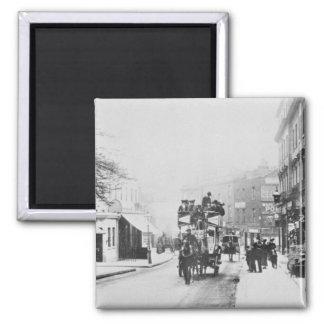 View of Church Street, Kensington c.1906 Magnet