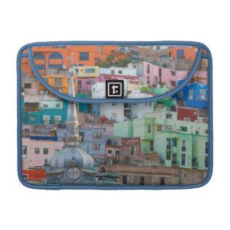 View of city buildings MacBook pro sleeve