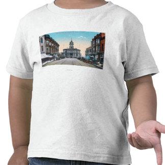 View of City Hall Bldg from Washington St T-shirt