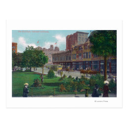 View of City Hall ParkOakland, CA Postcard
