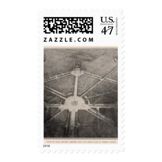 View of Civic Center, San Francisco Stamp