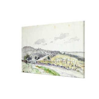 View of Clamart, 1864 Gallery Wrap Canvas