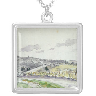 View of Clamart, 1864 Pendant