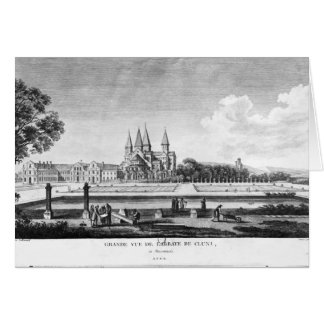 View of Cluny Abbey Card