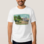 View of Coles Hill and Plymouth Rock Portico Shirt
