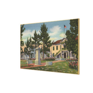 View of Colton Hall Canvas Print
