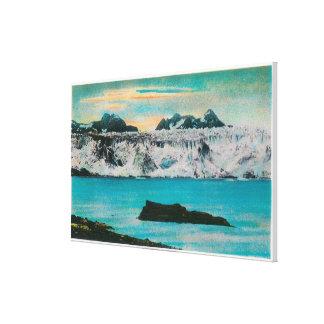 View of Columbia Glacier, Alaska Canvas Print