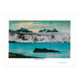 View of Columbia Glacier, Alaska Postcard