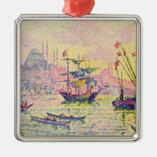 View of Constantinople, 1907 Metal Ornament