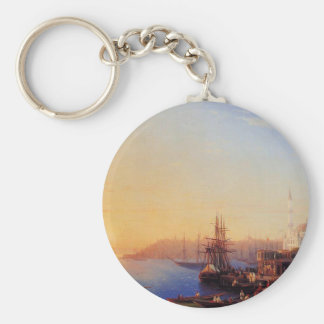 View of Constantinople and the Bosporus Keychain