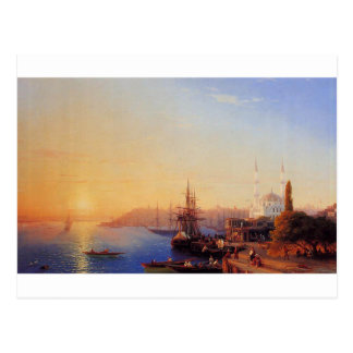 View of Constantinople and the Bosporus Postcard