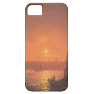 View of Constantinople by Moonlight by Aivazovsky iPhone SE/5/5s Case