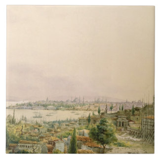 View of Constantinople from Pera Ceramic Tiles
