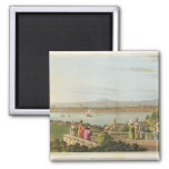 View of Constantinople, plate 1 from 'Views in the 2 Inch Square Magnet
