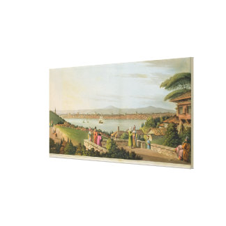 View of Constantinople, plate 1 from 'Views in the Canvas Print
