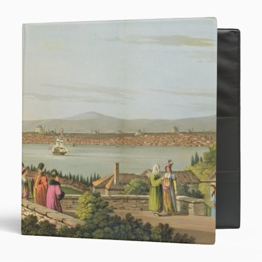 View of Constantinople, plate 1 from 'Views in the Vinyl Binders