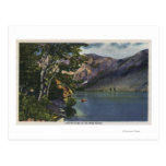 View of Convict Lake in the High Sierra Post Cards