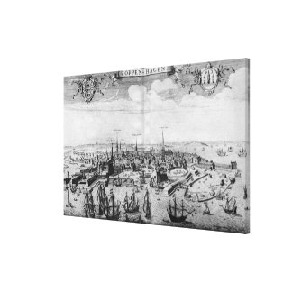 View of Copenhagen Canvas Print