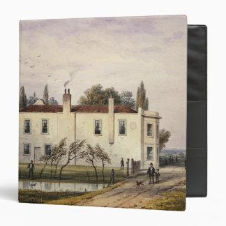 View of Copenhagen House, 1853 3 Ring Binder
