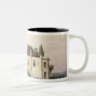 View of Copenhagen House, 1853 Two-Tone Coffee Mug