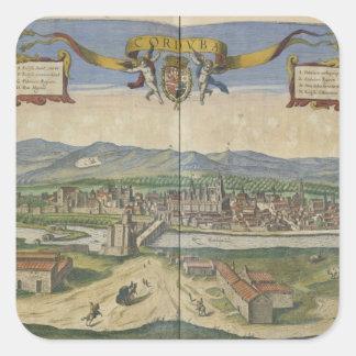 View of Cordoba Square Sticker