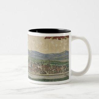 View of Cordoba Two-Tone Coffee Mug