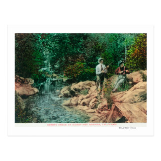 View of Coyote Creek at Gilroy Hot Springs Postcards