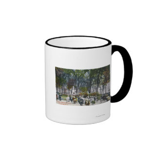 View of Crescent Park Coffee Mugs
