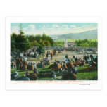View of Crowds at Golden Gate Park in December Postcards