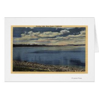 View of Crowley Lake Card