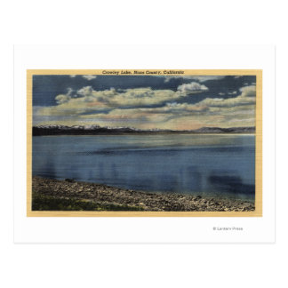View of Crowley Lake Postcard