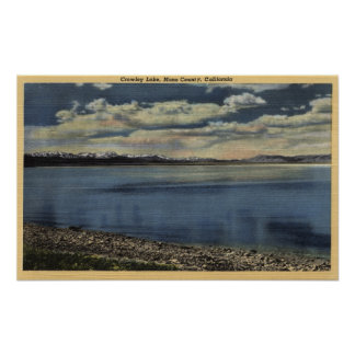 View of Crowley Lake Poster