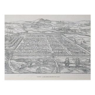 View of Cusco, from Ramusio, pub. 1556 Postcard