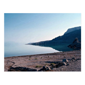 View of Dead Sea from north side, Israel Postcard