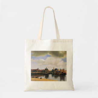 View of Delft by Johannes Vermeer Bag
