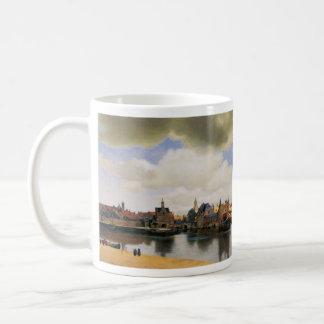 View of Delft by Johannes Vermeer Coffee Mug