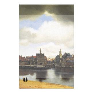 View of Delft by Johannes Vermeer Flyer